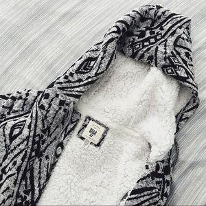 Billabong Faux Fur Zip-up Jacket